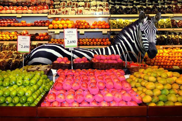 Guidée au supermarché